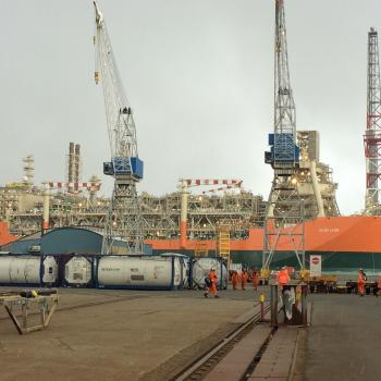 picture of the Glen Lyon FPSO in Haugesund